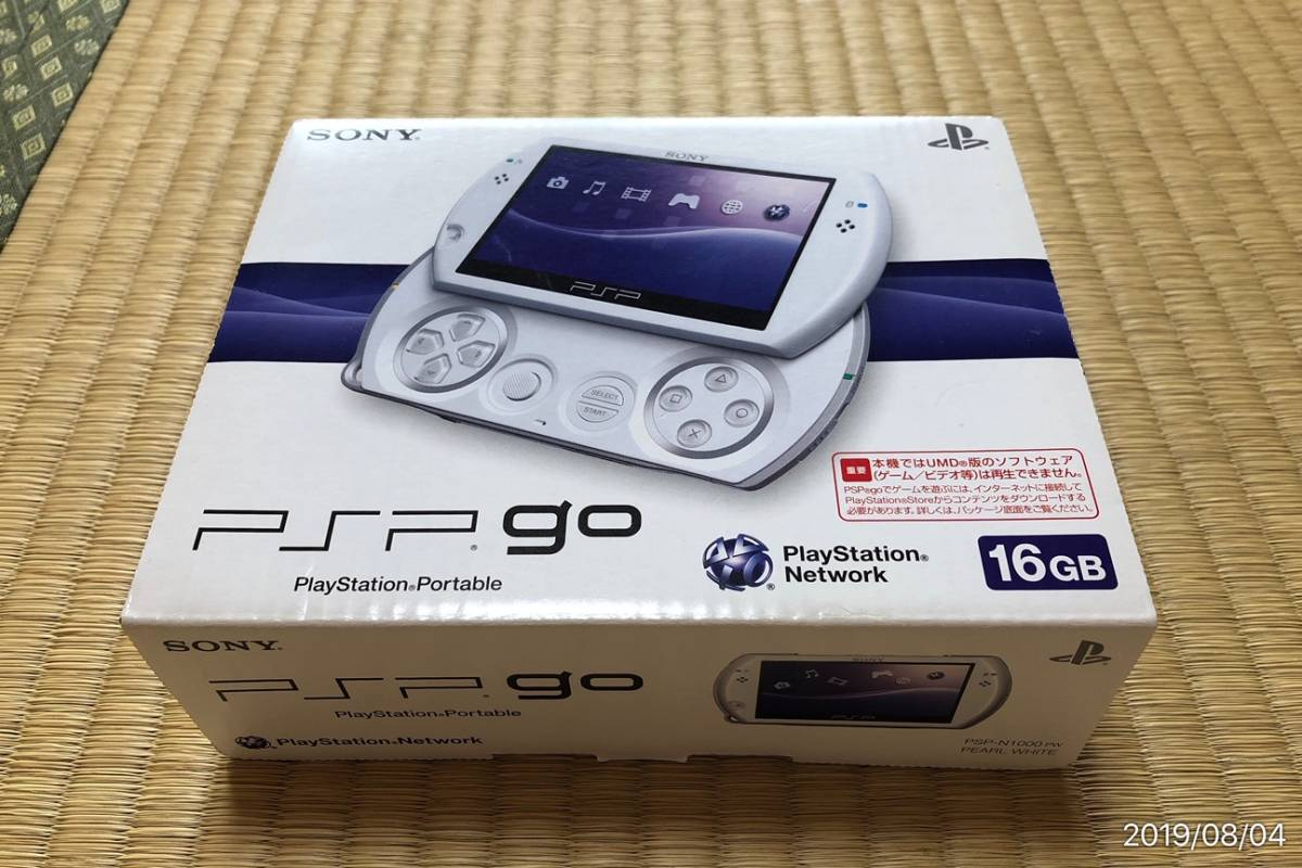 SONY PSPgo PSP-N1000 PW pearl * white beautiful goods : Real