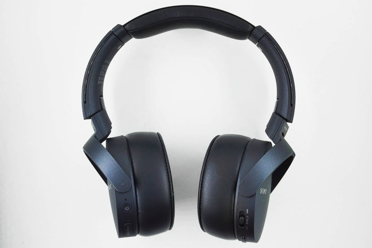 【極美品】SONY MDR-XB950N1 ブラック Bluetooth ワイヤレス ノイズキャンセル _画像2