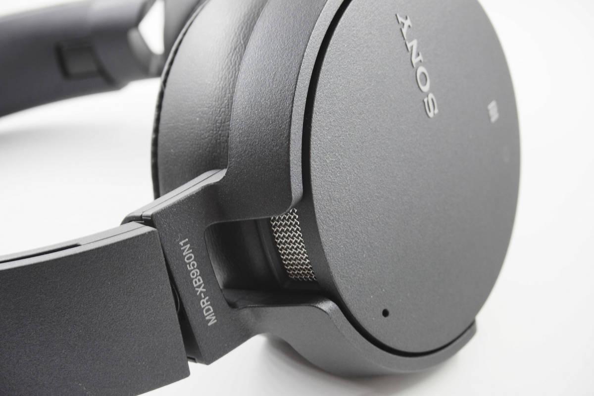 【極美品】SONY MDR-XB950N1 ブラック Bluetooth ワイヤレス ノイズキャンセル _画像7