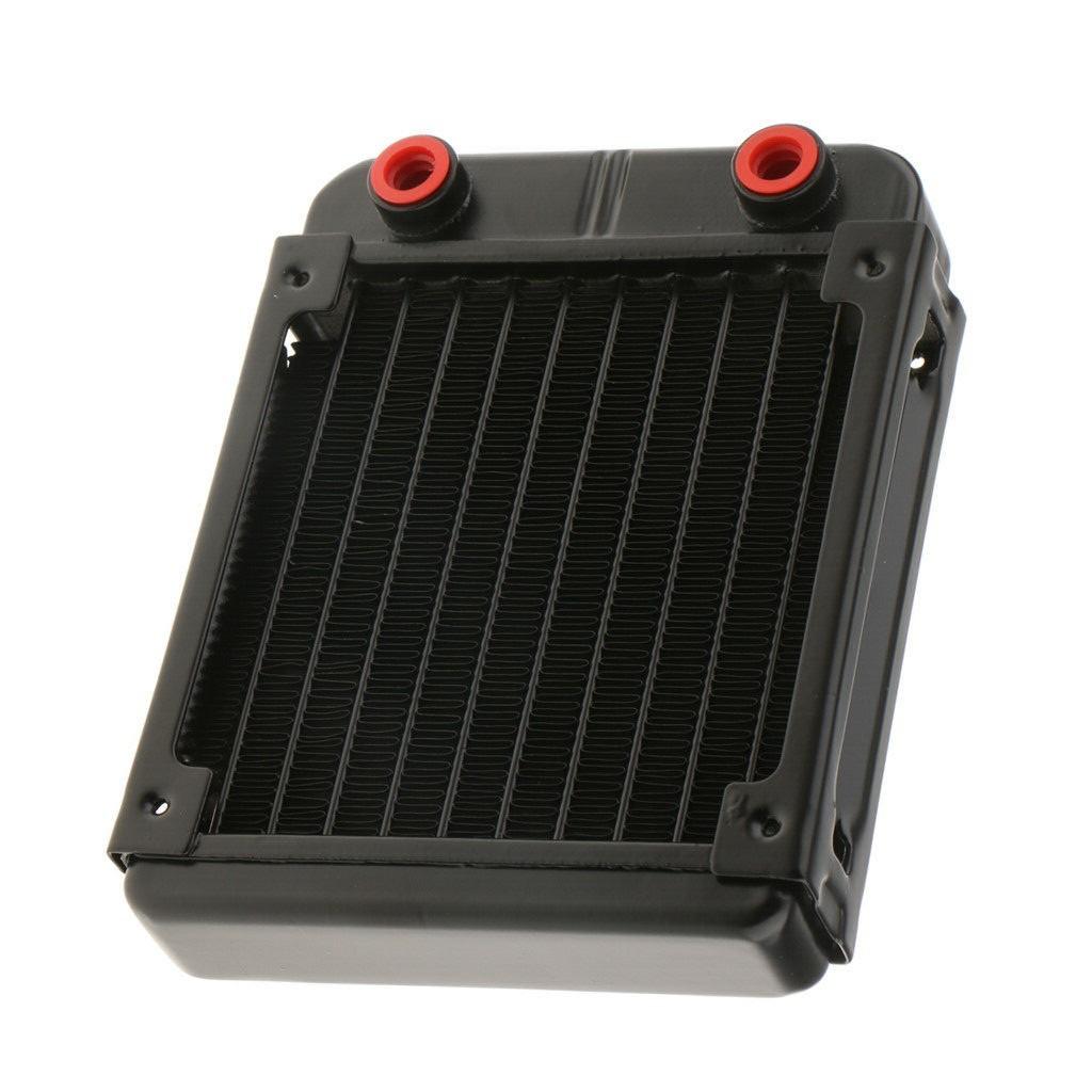 新品 水冷PC用ラジエーター 120mmヒートシンク 配管10本 _画像1