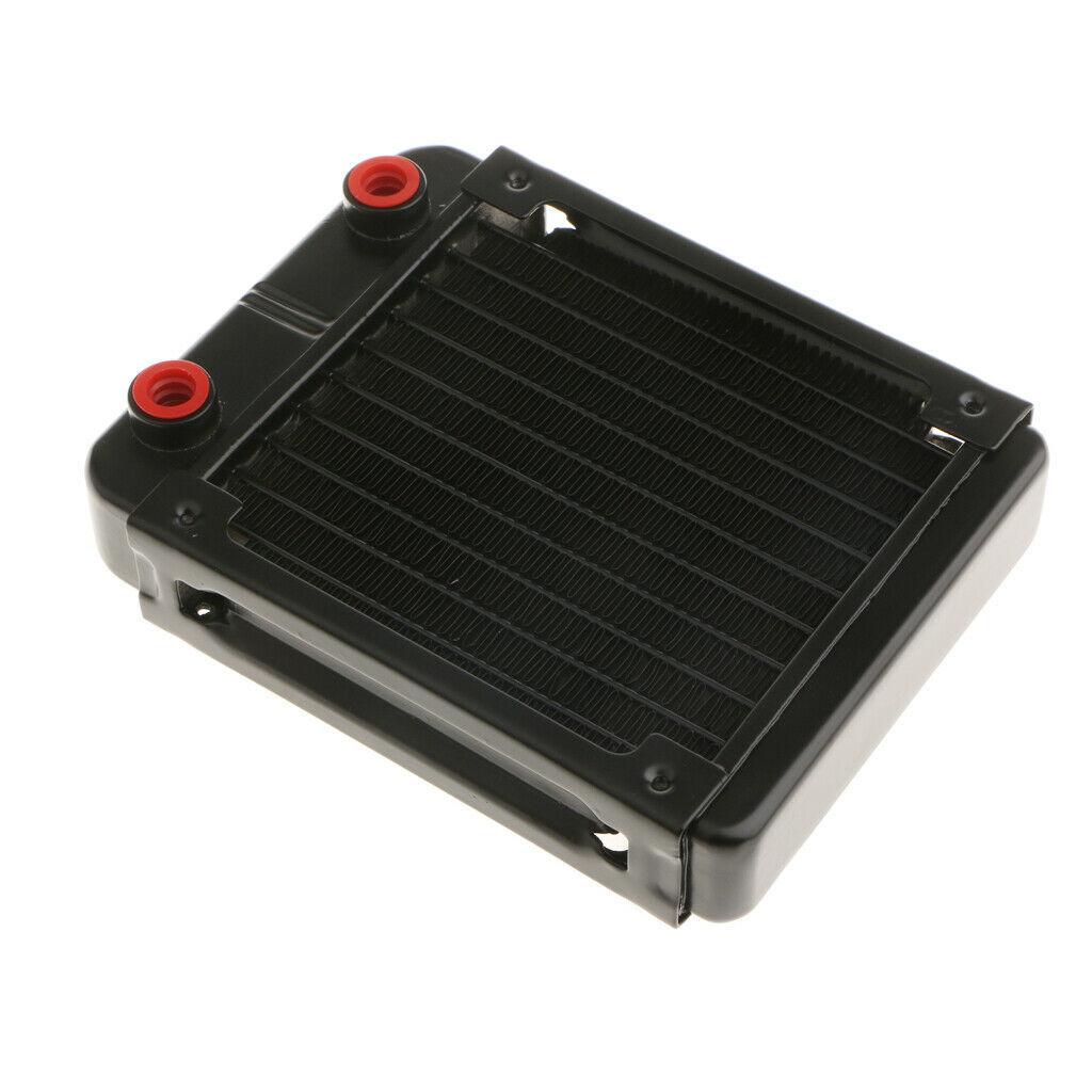 新品 水冷PC用ラジエーター 120mmヒートシンク 配管10本 _画像2