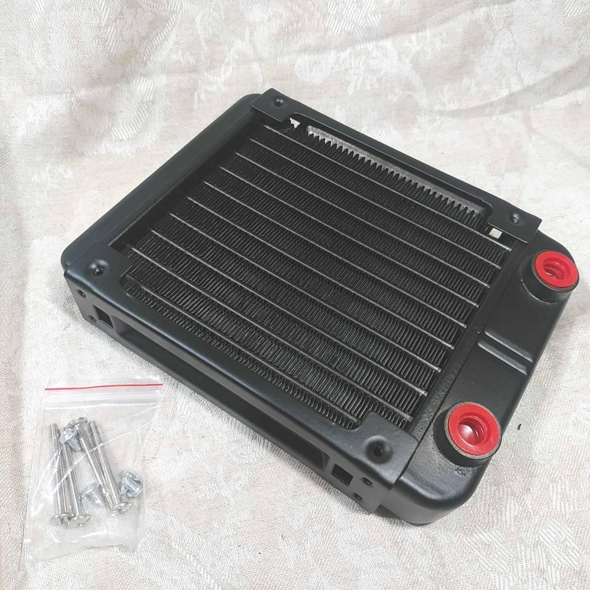 新品 水冷PC用ラジエーター 120mmヒートシンク 配管10本 _画像3