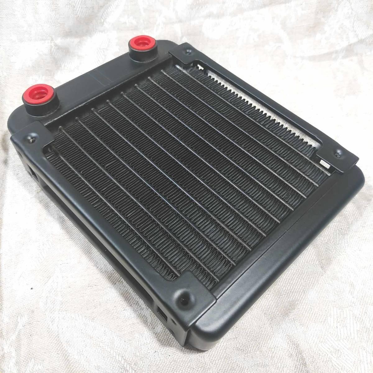 新品 水冷PC用ラジエーター 120mmヒートシンク 配管10本 _画像4