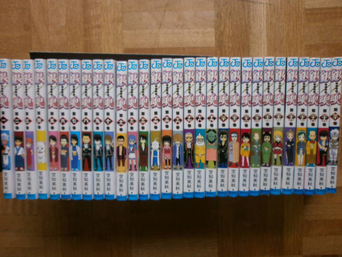 ■銀魂 1~最新77巻(最終巻)+3冊■空知英秋 ■_画像2