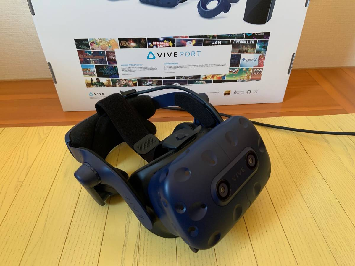 HTC VIVE Pro フルセット 99HANW009-00 ハイエンドVR 動作確認済み 価格175,910円(税込)_画像2