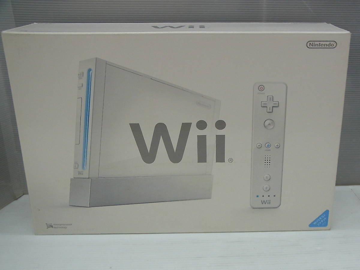 未使用 新品 Wii 任天堂 ニンテンドー 本体 RVL-001_画像2