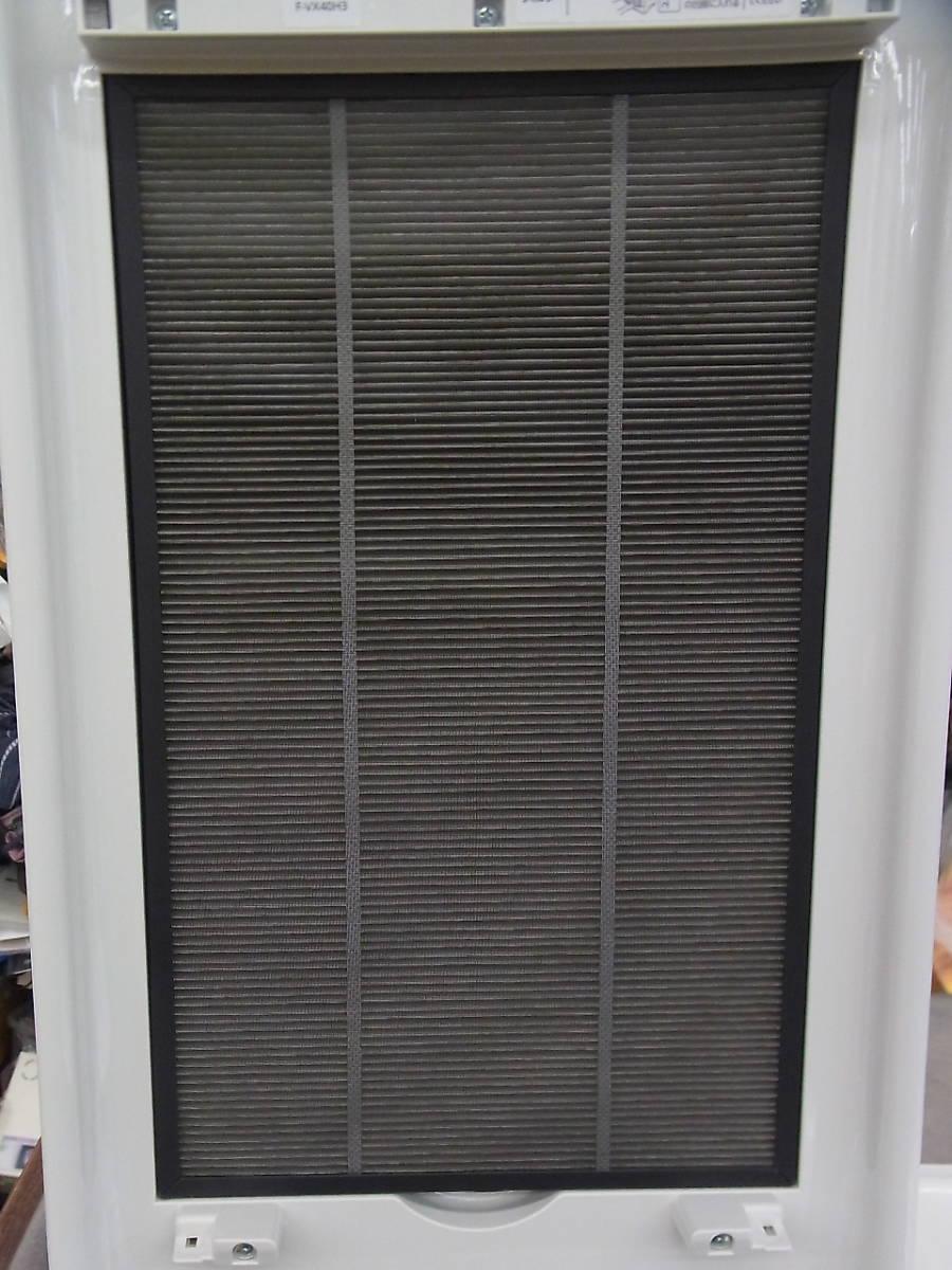 2019年~18畳 パナソニック エコナビ/ナノイー F-VX40H3 加湿 空気清浄機 美品