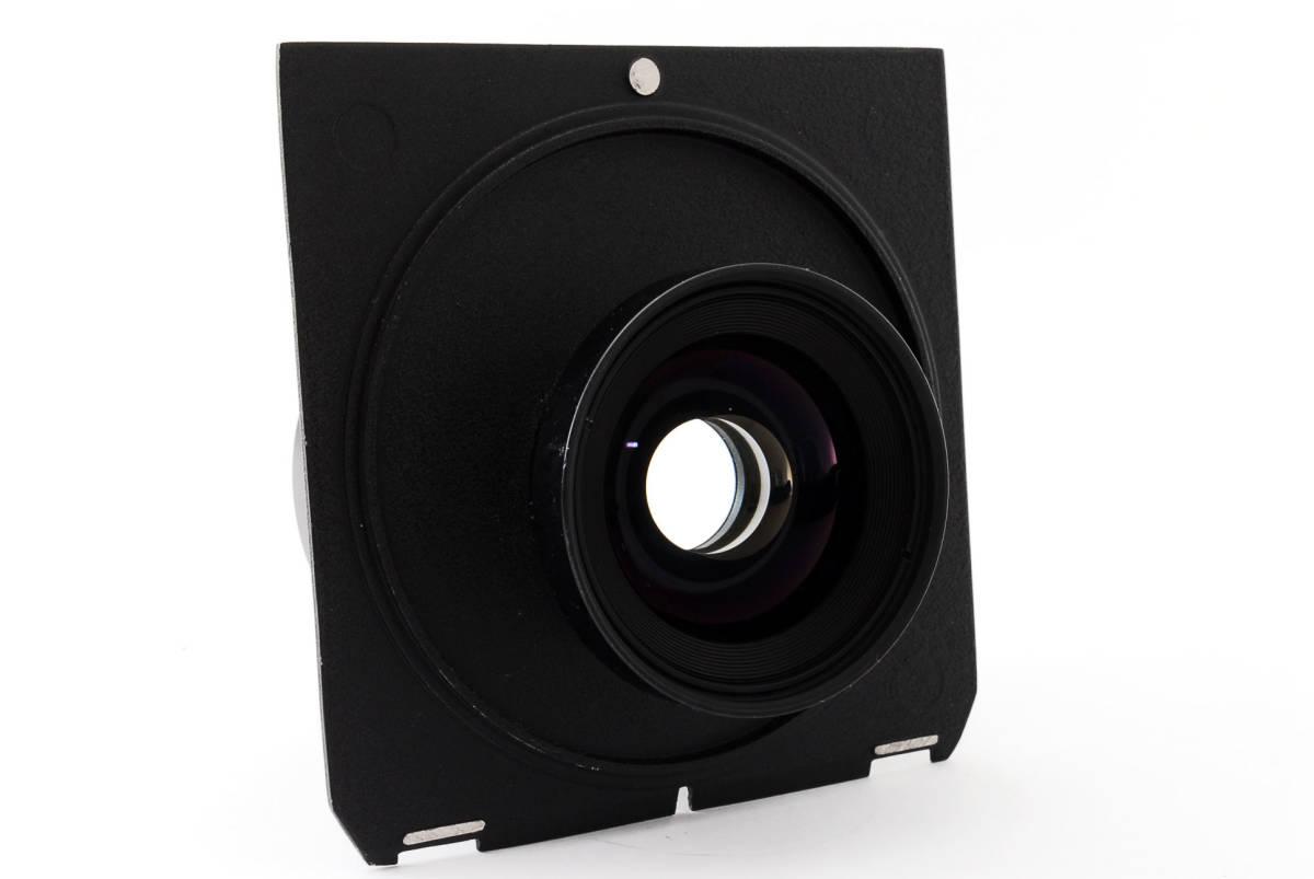 【極上美品】ニコン Nikkor SW 65mm f4 S 7枚絞り 大判レンズ 4x5 ボード付!動作確認済み_画像7