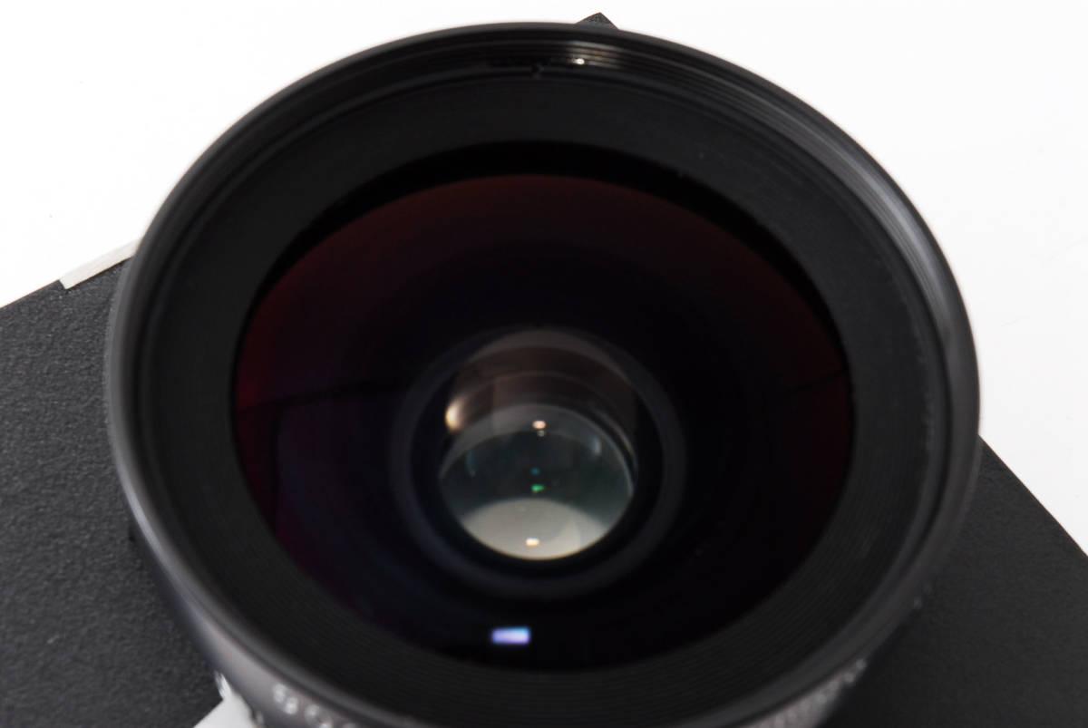 【極上美品】ニコン Nikkor SW 65mm f4 S 7枚絞り 大判レンズ 4x5 ボード付!動作確認済み_画像9
