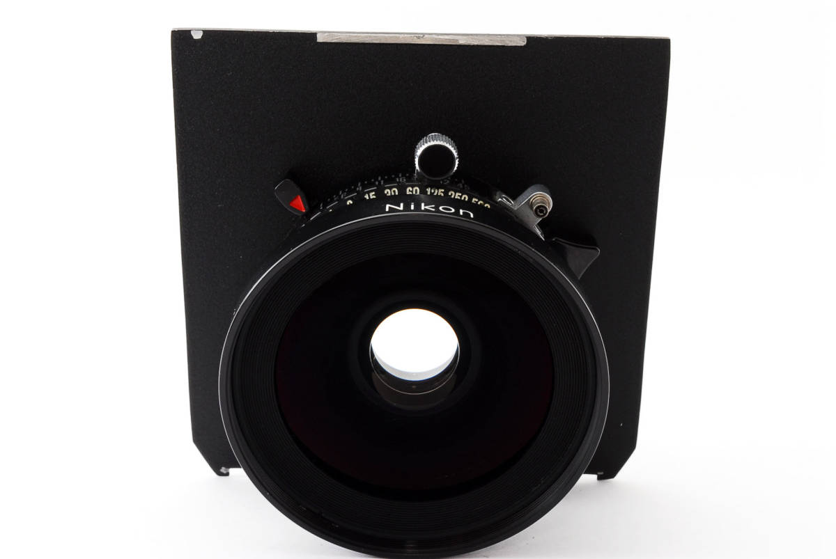 【極上美品】ニコン Nikkor SW 65mm f4 S 7枚絞り 大判レンズ 4x5 ボード付!動作確認済み_画像3