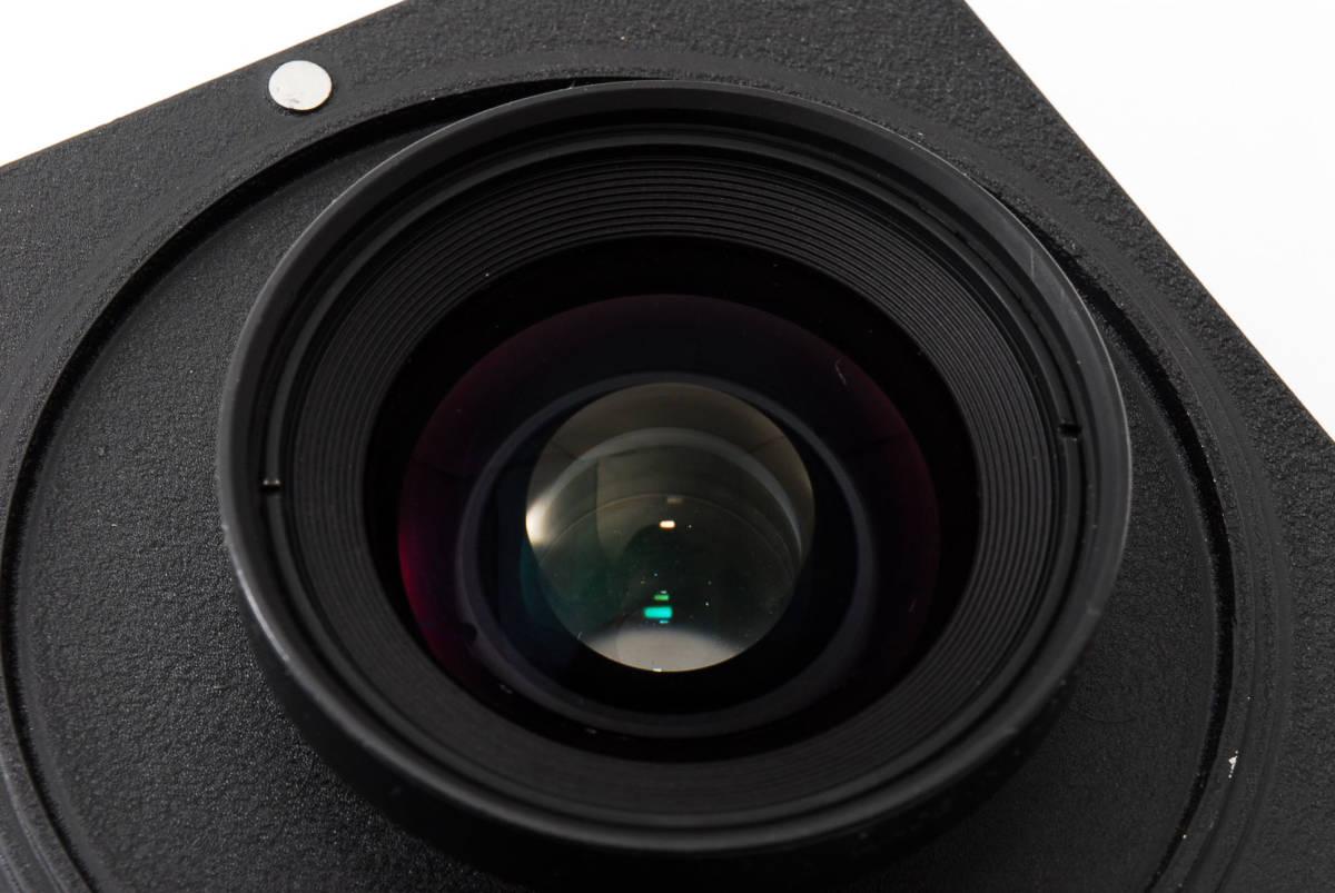 【極上美品】ニコン Nikkor SW 65mm f4 S 7枚絞り 大判レンズ 4x5 ボード付!動作確認済み_画像8