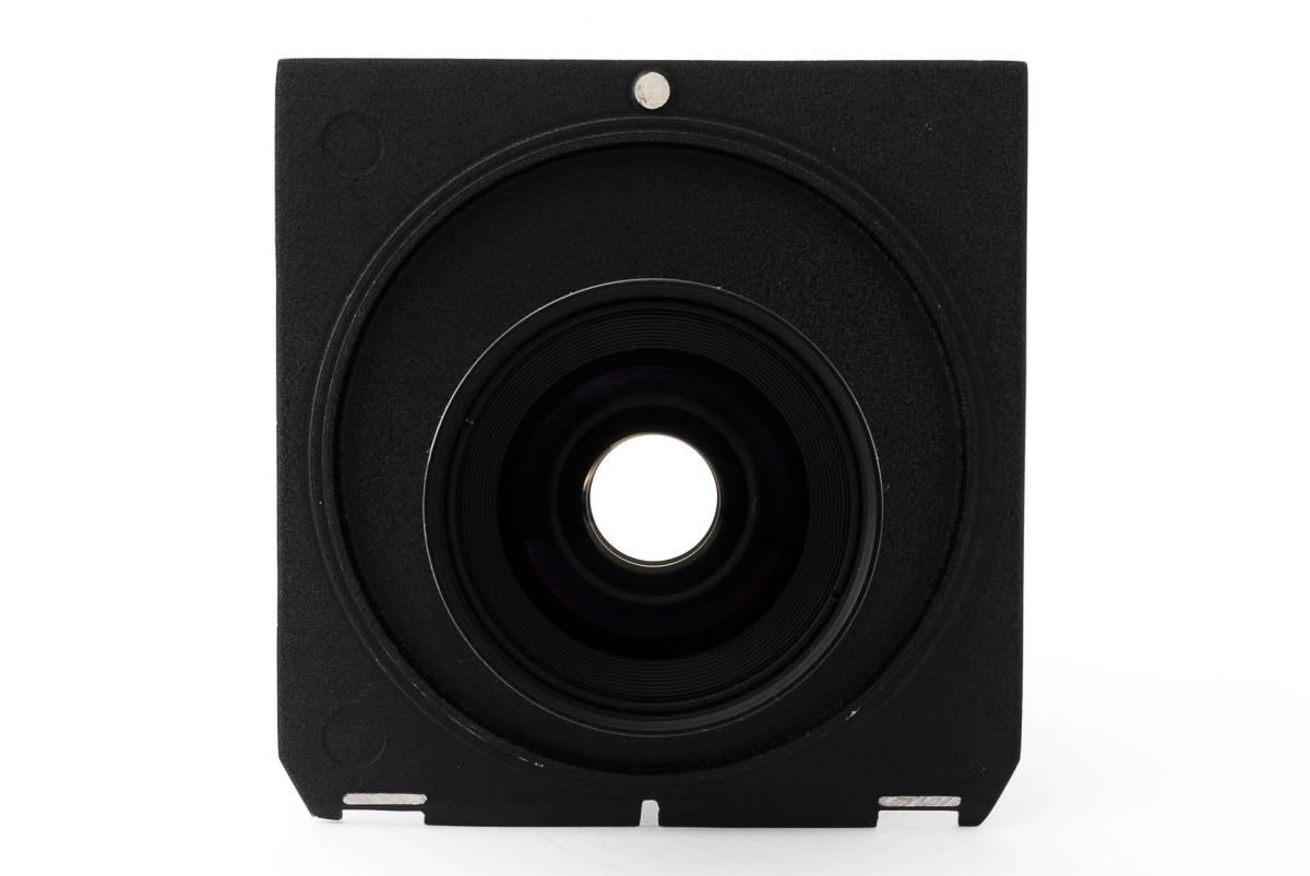【極上美品】ニコン Nikkor SW 65mm f4 S 7枚絞り 大判レンズ 4x5 ボード付!動作確認済み_画像6