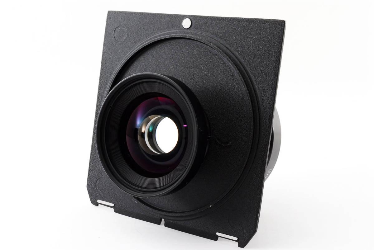 【極上美品】ニコン Nikkor SW 65mm f4 S 7枚絞り 大判レンズ 4x5 ボード付!動作確認済み_画像5