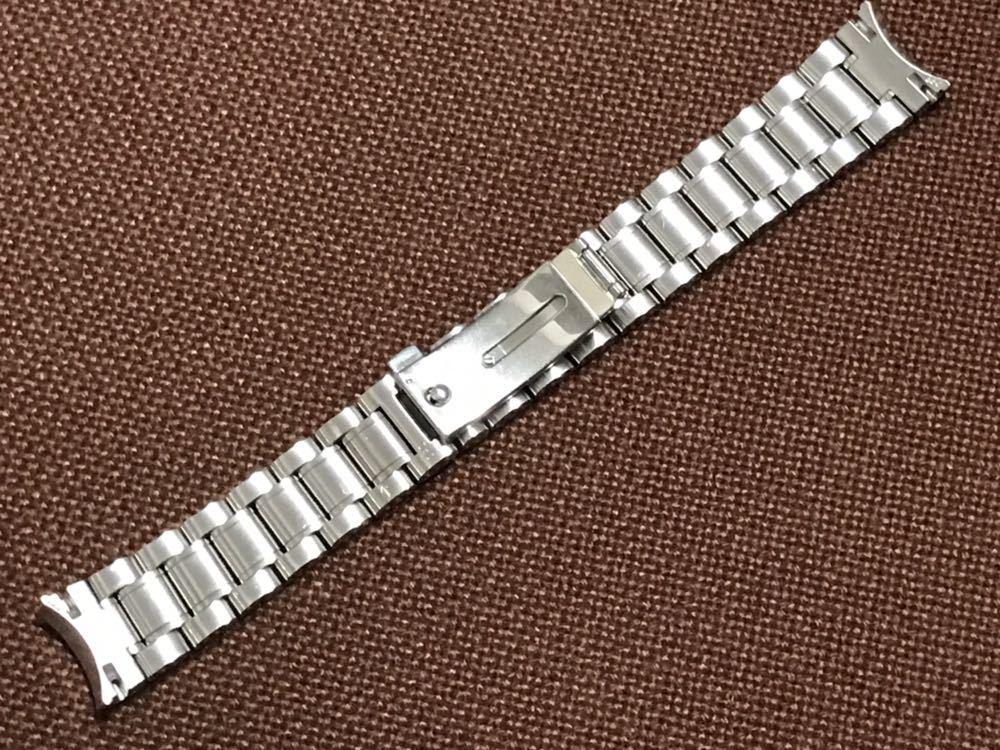 オメガ スピードマスター ステンレスベルト 1562/850 ラグ幅18mm 全長15cm OMEGA speedmaster し-2_画像7