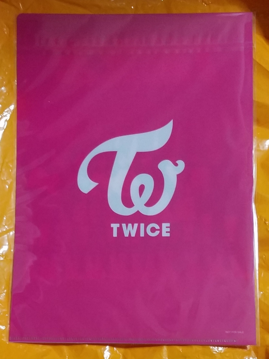 TWICE ダヒョン ONE MORE TIME クリアファイル 新品未開封 即決 DAHYUN ハイタッチ会場限定特典 リリイベ グッズ トゥワイス_画像2