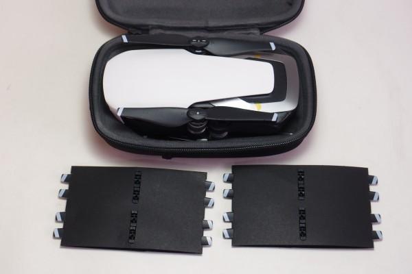 DJI MAVIC AIR FlyMoreCombo 8インチタブレット NDフィルター他おまけ付 コンパクト430gドローン 4K撮影 3軸ジンバル GPS 送料無料_画像10
