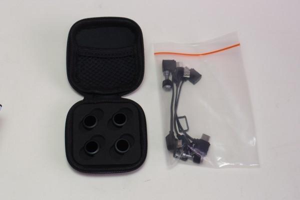 DJI MAVIC AIR FlyMoreCombo 8インチタブレット NDフィルター他おまけ付 コンパクト430gドローン 4K撮影 3軸ジンバル GPS 送料無料_画像7