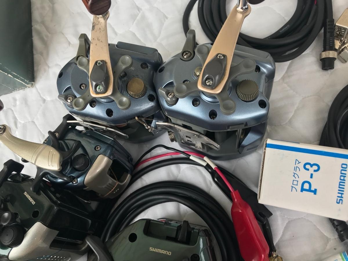 ⑨シマノ レトロ電動リール カウンターリール 色々 計7台電動は特に不具合は有りません。TM4000Hは未使用と思われます_画像8