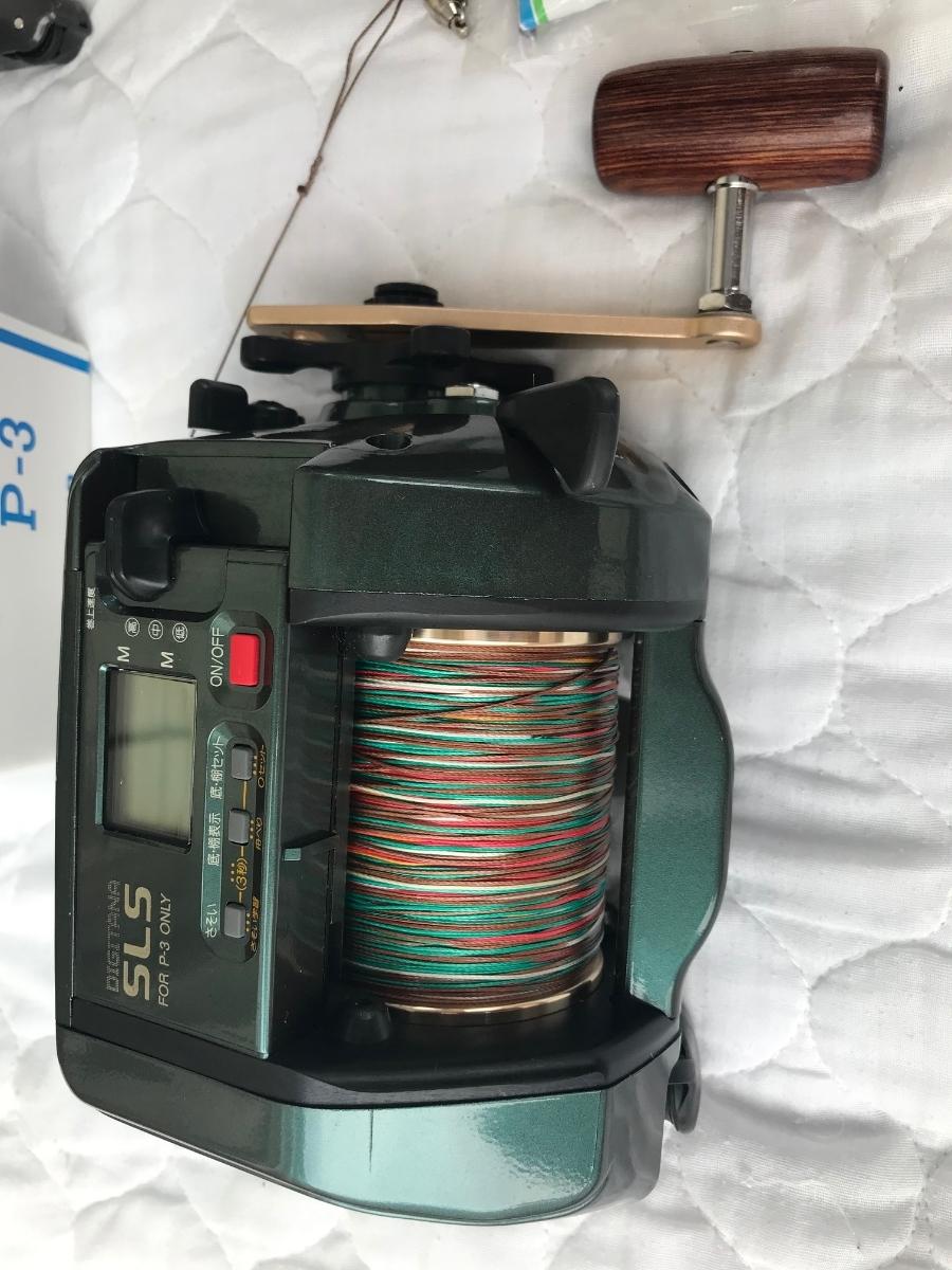 ⑨シマノ レトロ電動リール カウンターリール 色々 計7台電動は特に不具合は有りません。TM4000Hは未使用と思われます_画像10