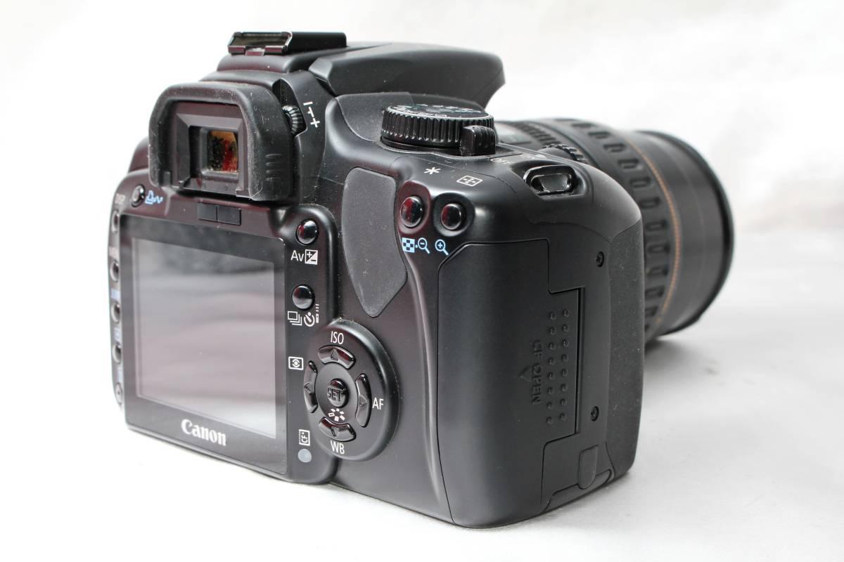 ★【レンズカメラ大放出! トリプルレンズセット】Canon EOS Kiss Digital X EOS 1000QD ★EF28-105mm USM EF35-80mm EF35-70mm ★まとめ_画像3