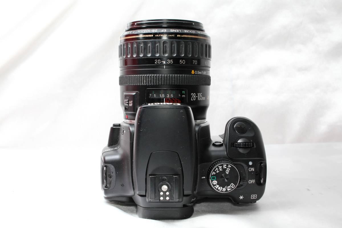 ★【レンズカメラ大放出! トリプルレンズセット】Canon EOS Kiss Digital X EOS 1000QD ★EF28-105mm USM EF35-80mm EF35-70mm ★まとめ_画像4