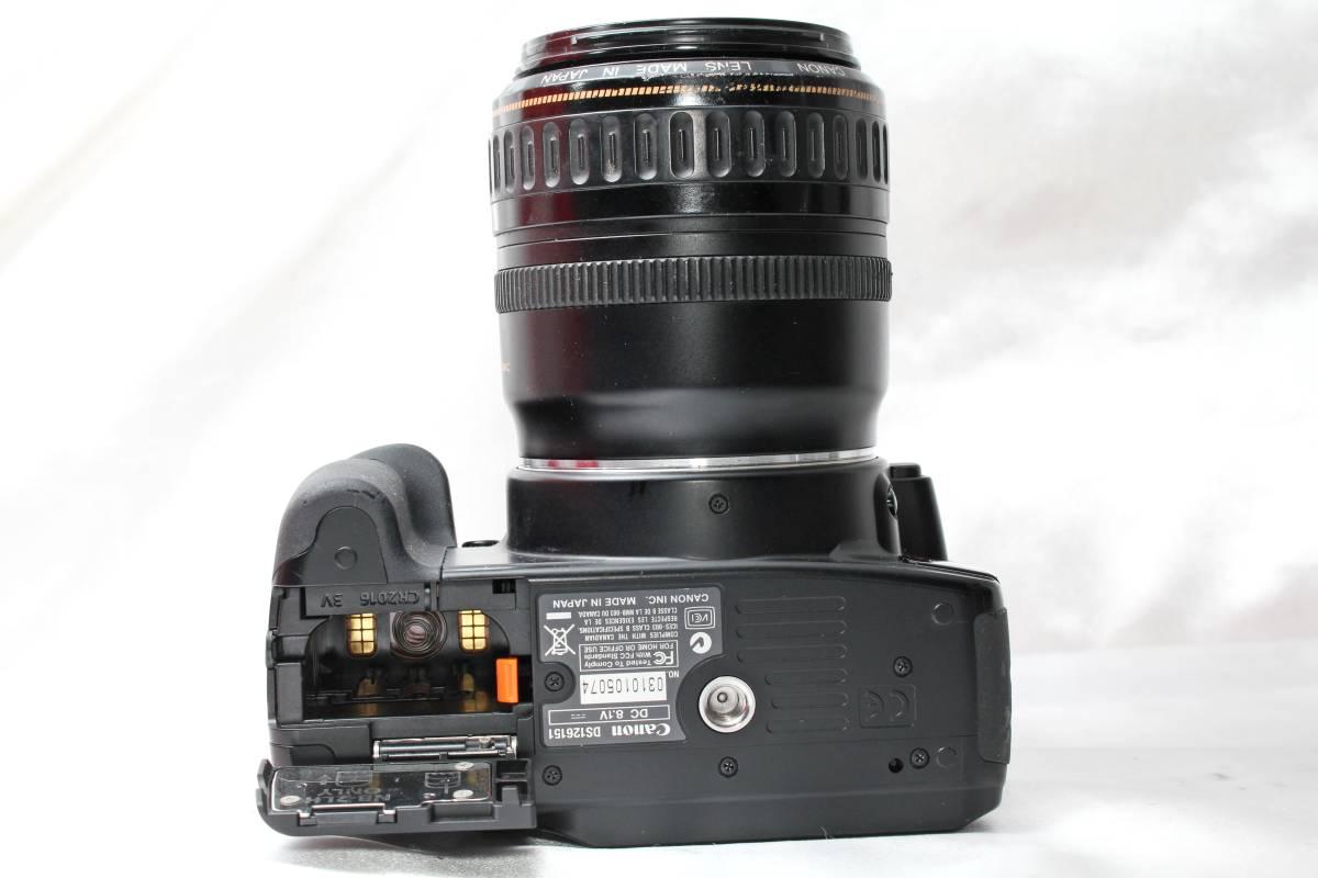 ★【レンズカメラ大放出! トリプルレンズセット】Canon EOS Kiss Digital X EOS 1000QD ★EF28-105mm USM EF35-80mm EF35-70mm ★まとめ_画像5