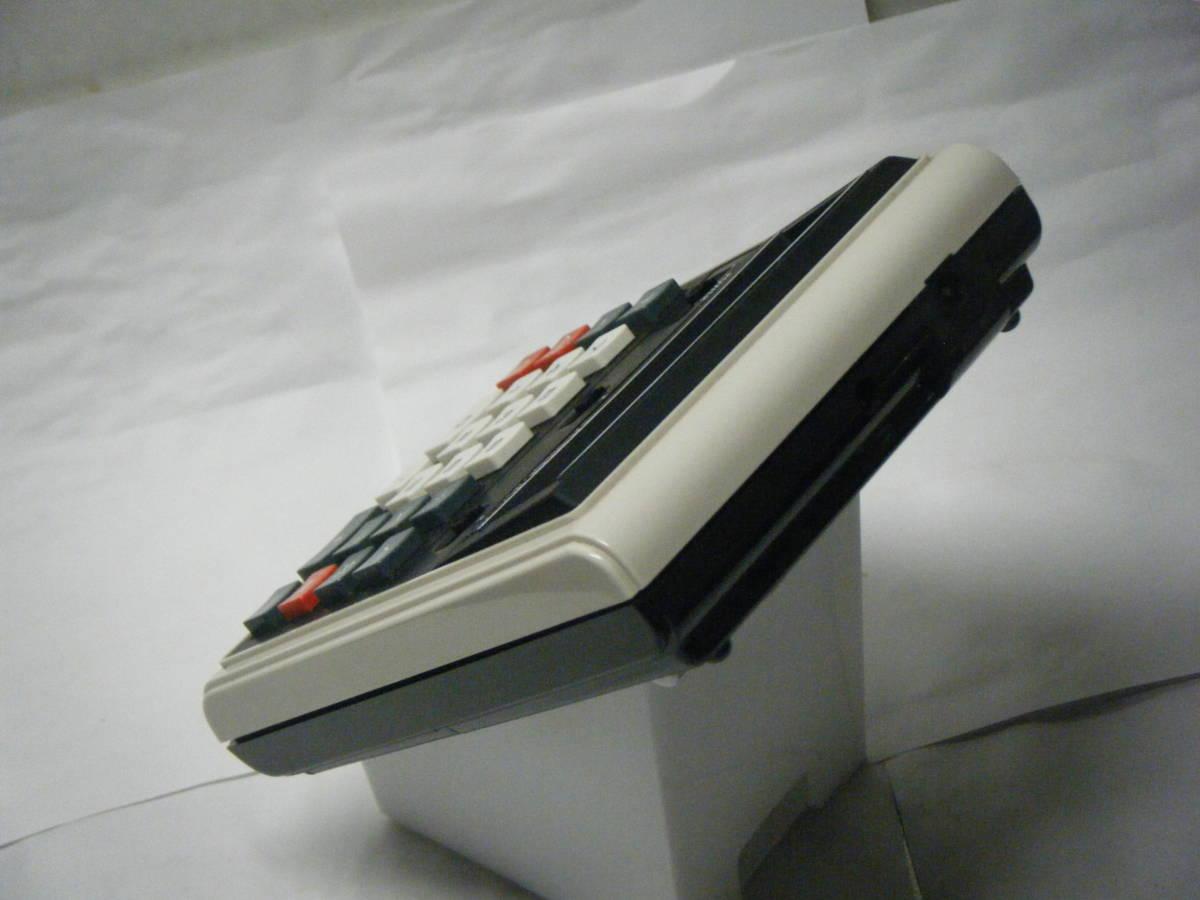 カシオ 電卓 「801MR」 CASIO 昭和レトロ 計算機 蛍光管表示 アンティーク VFD表示 古い 1974_画像5