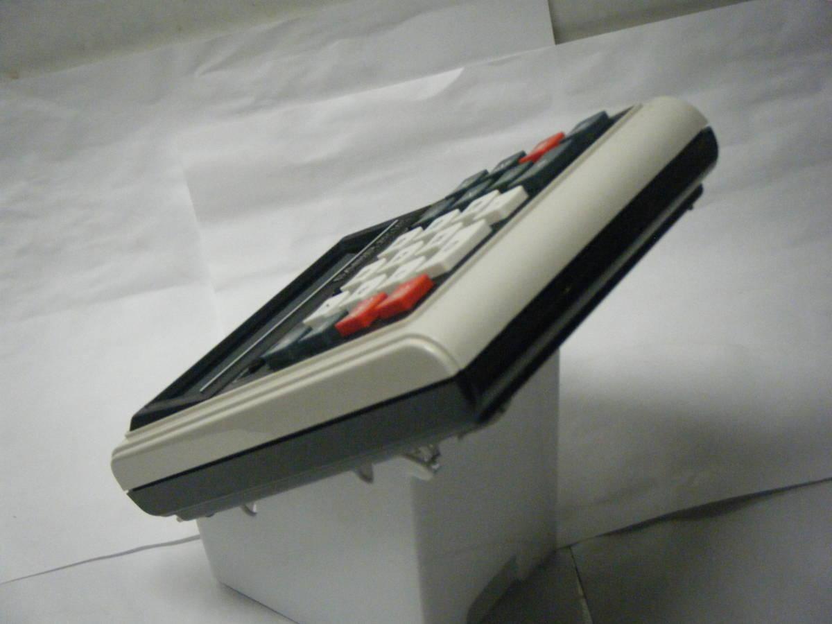 カシオ 電卓 「801MR」 CASIO 昭和レトロ 計算機 蛍光管表示 アンティーク VFD表示 古い 1974_画像6