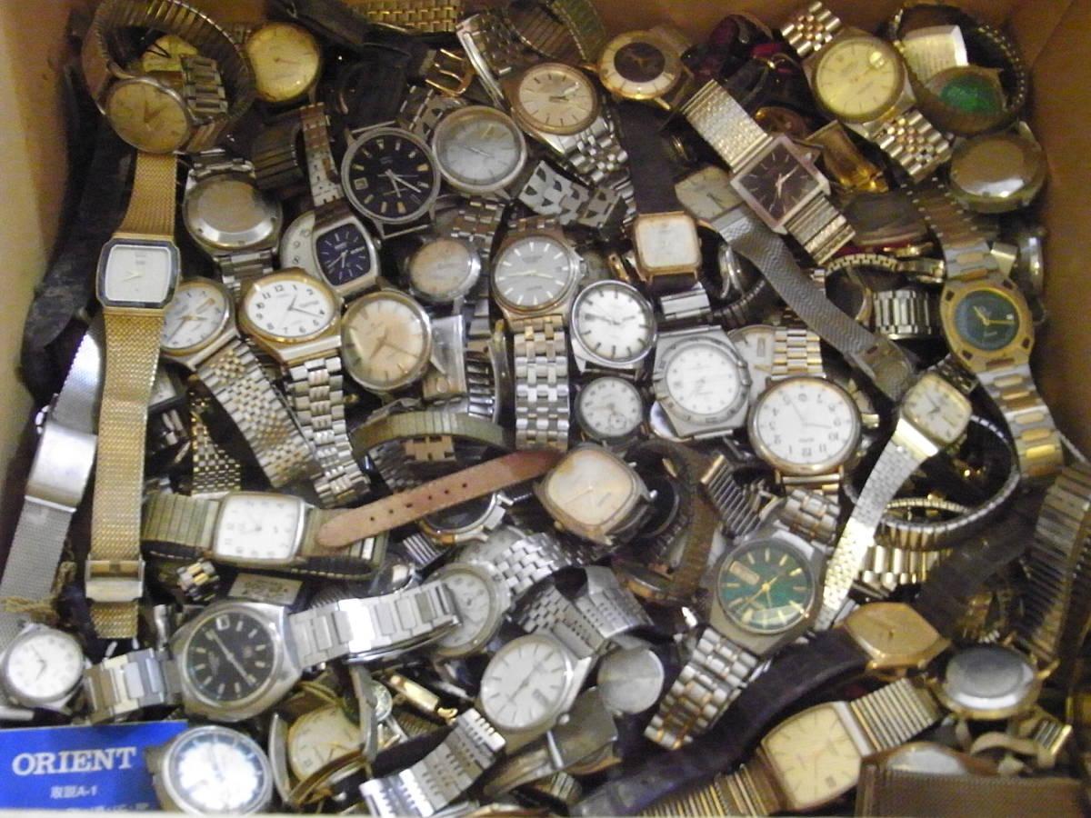 ■腕時計おまとめセット■300個以上/SEIKO CITIZEN HAMILTON 等/機械式・QUARTZ/大量/個/kg/ジャンク/ブランド
