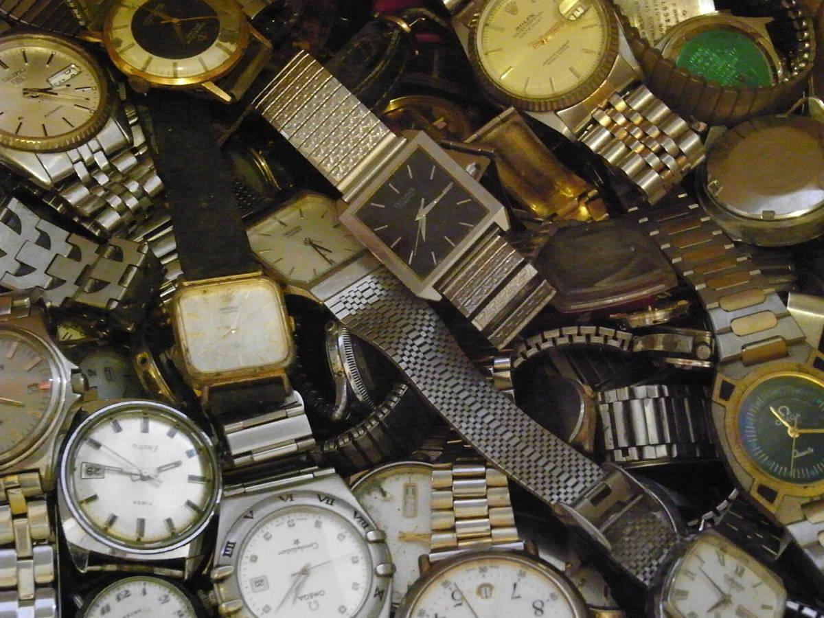 ■腕時計おまとめセット■300個以上/SEIKO CITIZEN HAMILTON 等/機械式・QUARTZ/大量/個/kg/ジャンク/ブランド_画像4