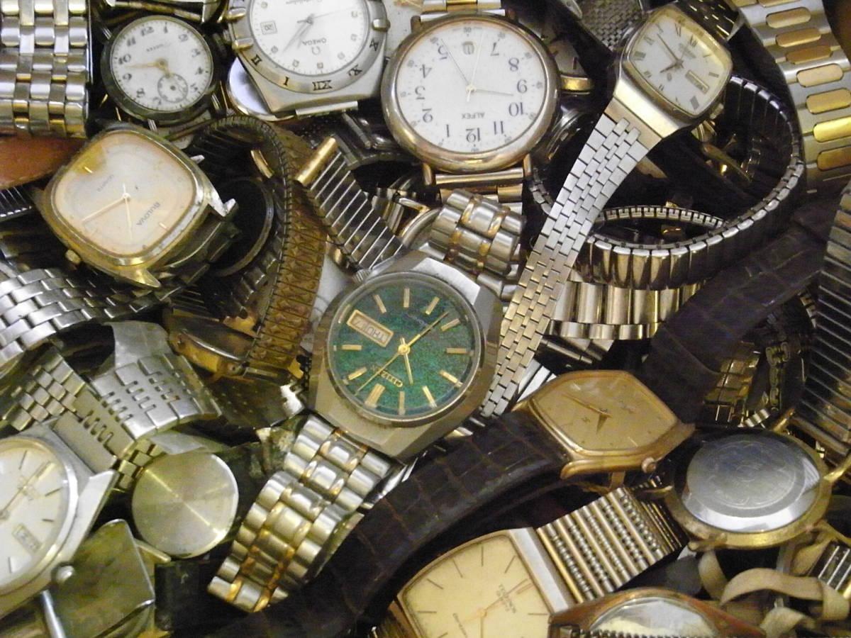 ■腕時計おまとめセット■300個以上/SEIKO CITIZEN HAMILTON 等/機械式・QUARTZ/大量/個/kg/ジャンク/ブランド_画像5