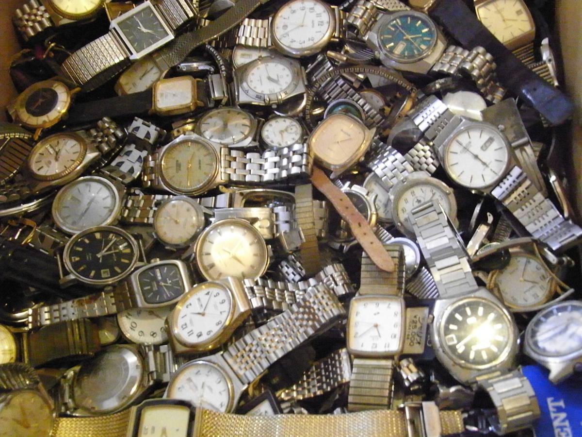 ■腕時計おまとめセット■300個以上/SEIKO CITIZEN HAMILTON 等/機械式・QUARTZ/大量/個/kg/ジャンク/ブランド_画像6
