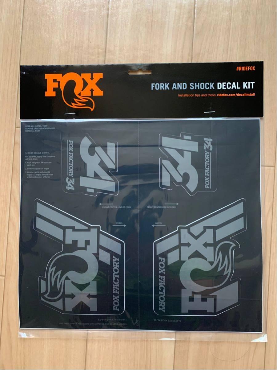 FOX34 Factory 27.5 140mm FIT4 Damper 15x100mm 2020年モデル 新品未使用 純正デカール付き !_画像6
