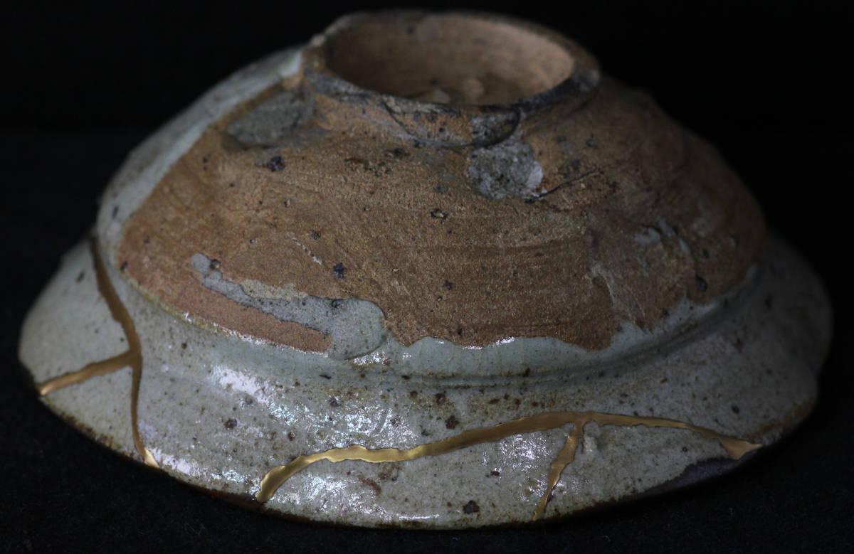 【風】 仏 古唐津皮鯨茶碗 桃山時代 本物保証_画像6