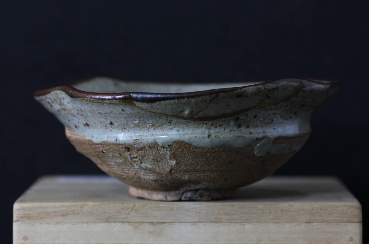 【風】 仏 古唐津皮鯨茶碗 桃山時代 本物保証_画像1