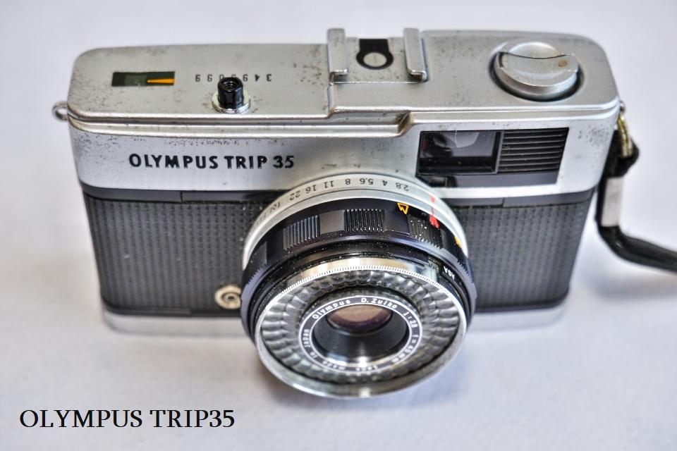 ヤシカ リンクス1000 フジカハーフ OLYMPUS TRIP35 オリンパス35DC ミノルタAF-E フィルムカメラ5台_画像7