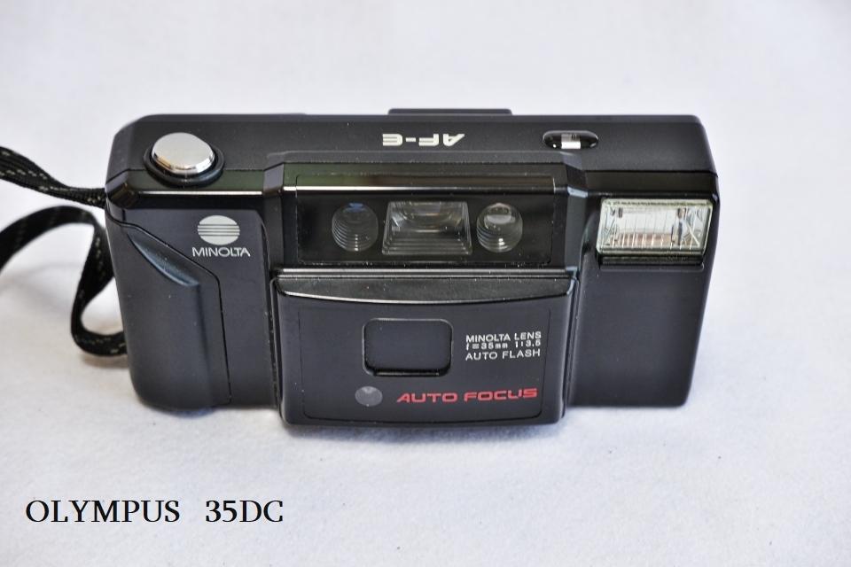 ヤシカ リンクス1000 フジカハーフ OLYMPUS TRIP35 オリンパス35DC ミノルタAF-E フィルムカメラ5台_画像10