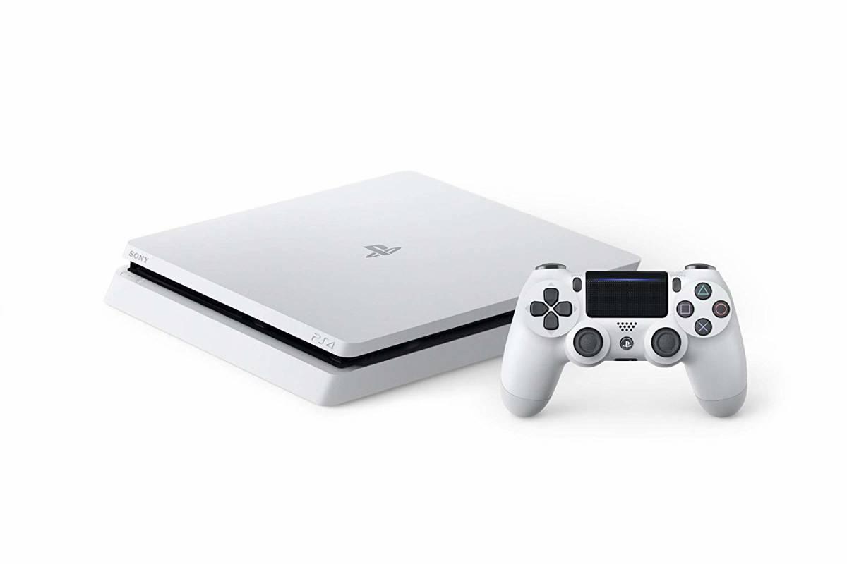 PlayStation 4 グレイシャー・ホワイト 500GB (CUH-2200AB02) 新品