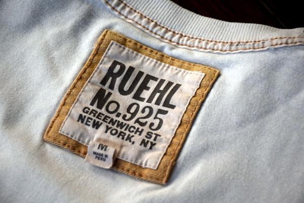 美品 希少 レア物 カクテル LADY Tシャツ RUEHL No.925 本物 ルール ナンバー925 正規品 アバクロの上級ブランド_画像5