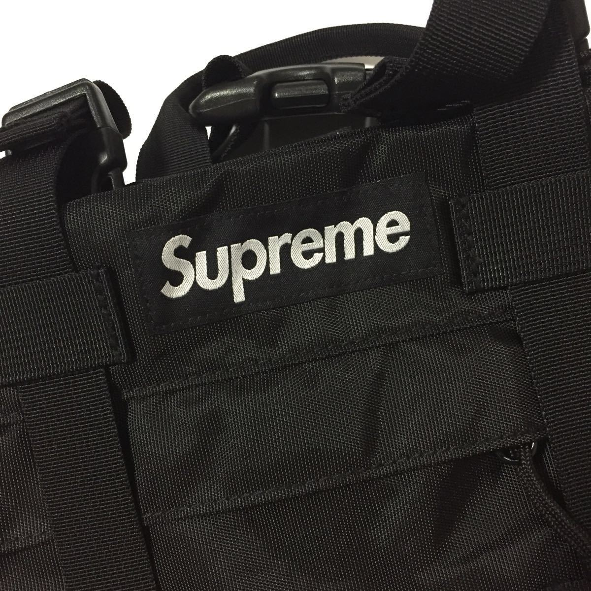 19fw Supreme Waist Bag ブラック 新品 国内正規品 ウエストバッグ 19aw_画像2