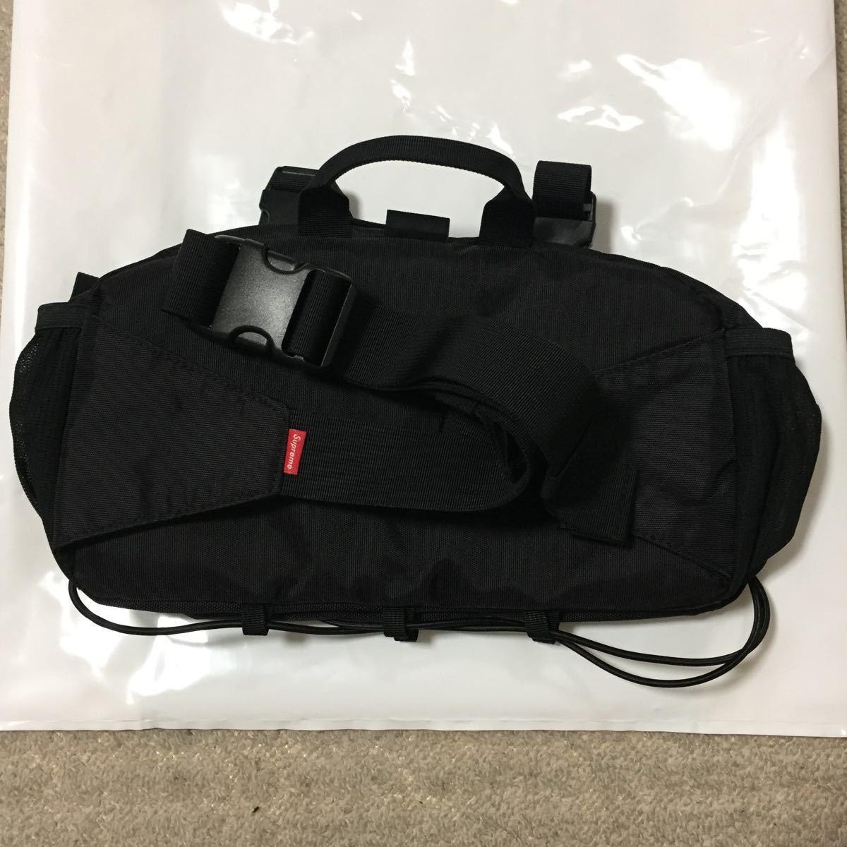 19fw Supreme Waist Bag ブラック 新品 国内正規品 ウエストバッグ 19aw_画像3