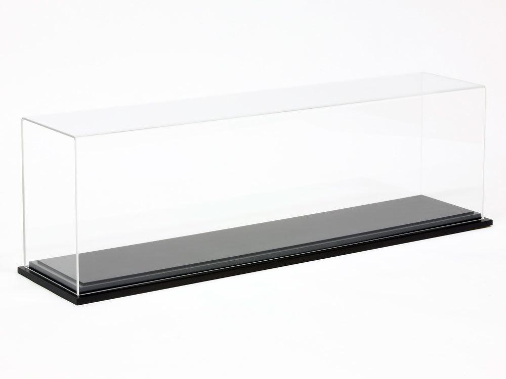 新品1円~タミヤ 1/350ディスプレイケース木製台座付 大和に最適_画像3