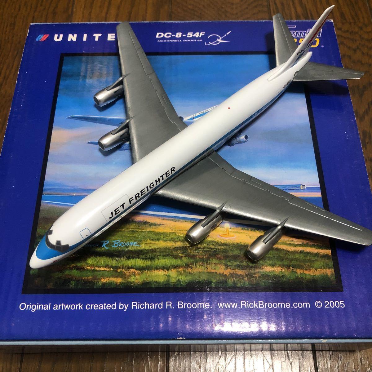 ジェミニ250 1/250 ユナイテッド航空ダグラスDC-8-54F 中古品_画像4
