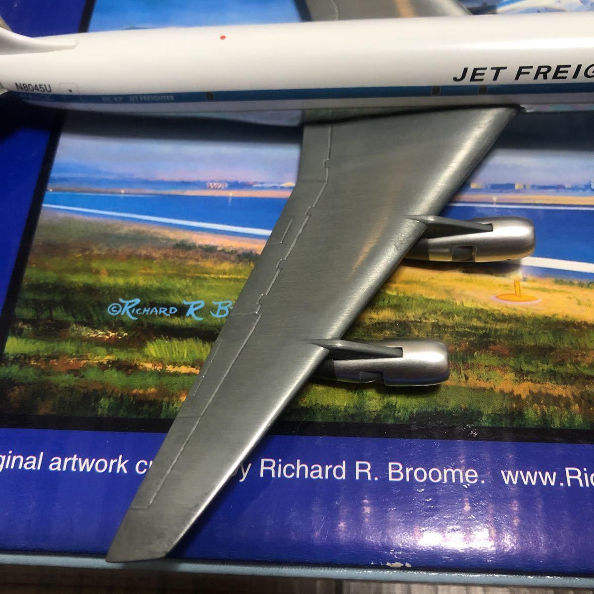 ジェミニ250 1/250 ユナイテッド航空ダグラスDC-8-54F 中古品_画像7