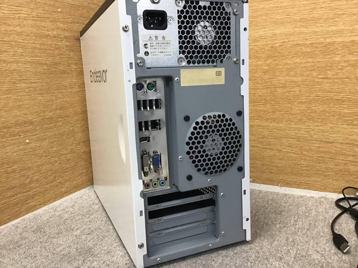 i 7-2600S換装★ミニタワーENDEAVOR MR6900(改)★16GBメモリ+新品SSD256GB+HDD1TB★Win10+ワード・エクセル・パワーポイント★807-2_画像4