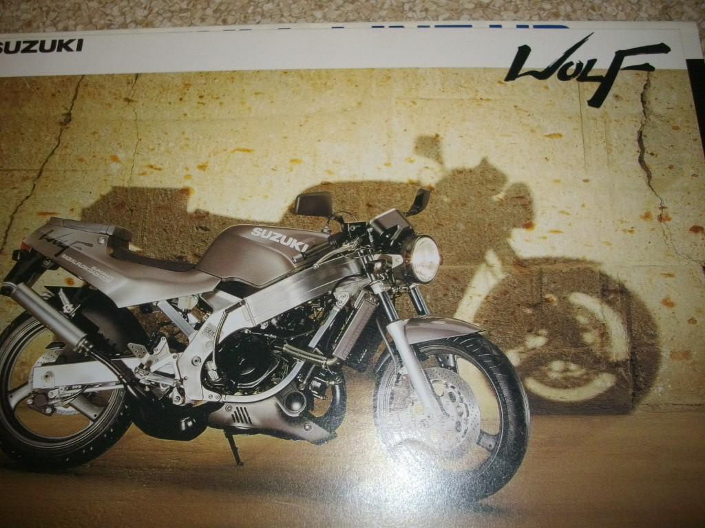 スズキ ウルフ カタログ  VJ21A 見開き4ページ 1988年 25年前 送料185円