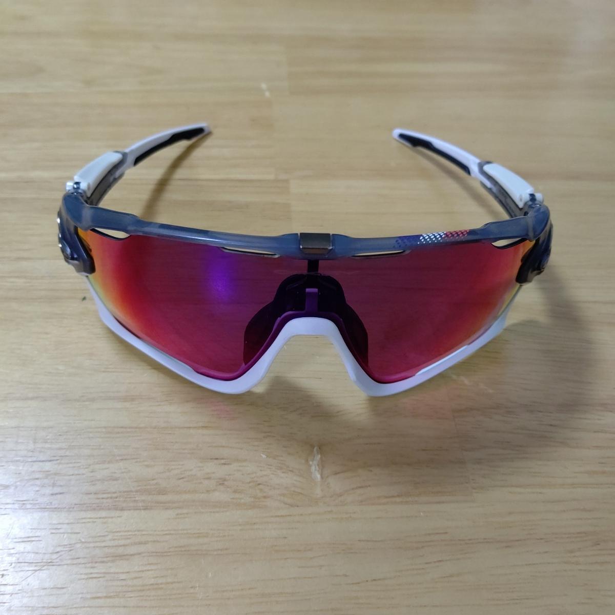 【送料無料】OAKLEY オークリー JAWBREAKER ツール・ド・フランス限定モデル 交換レンズ付き【中古】