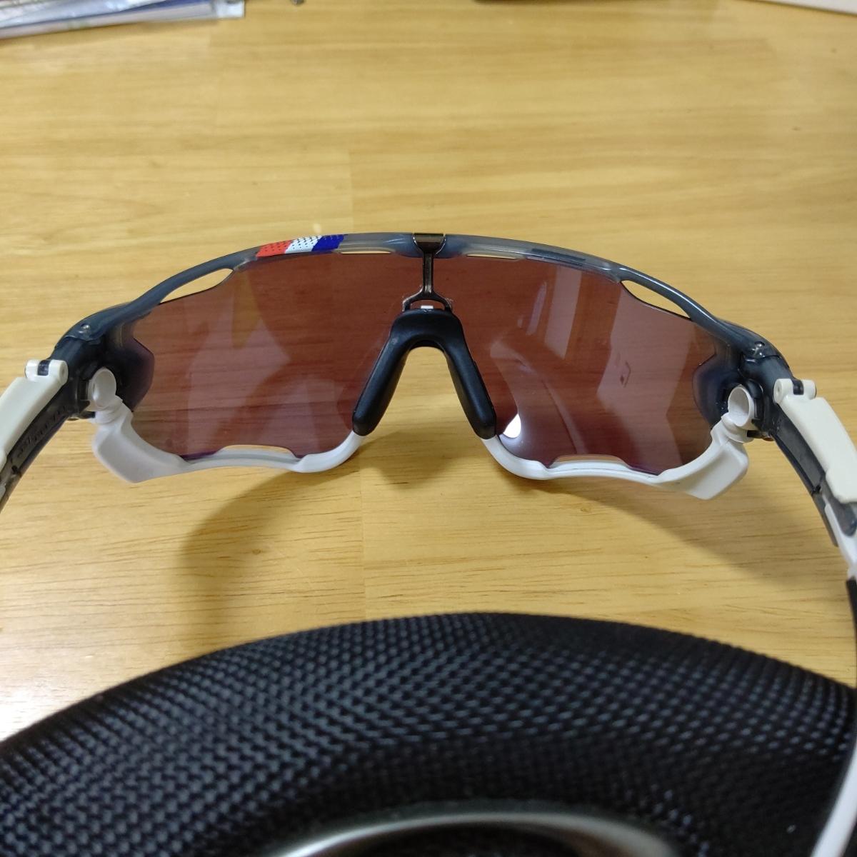 【送料無料】OAKLEY オークリー JAWBREAKER ツール・ド・フランス限定モデル 交換レンズ付き【中古】_画像4