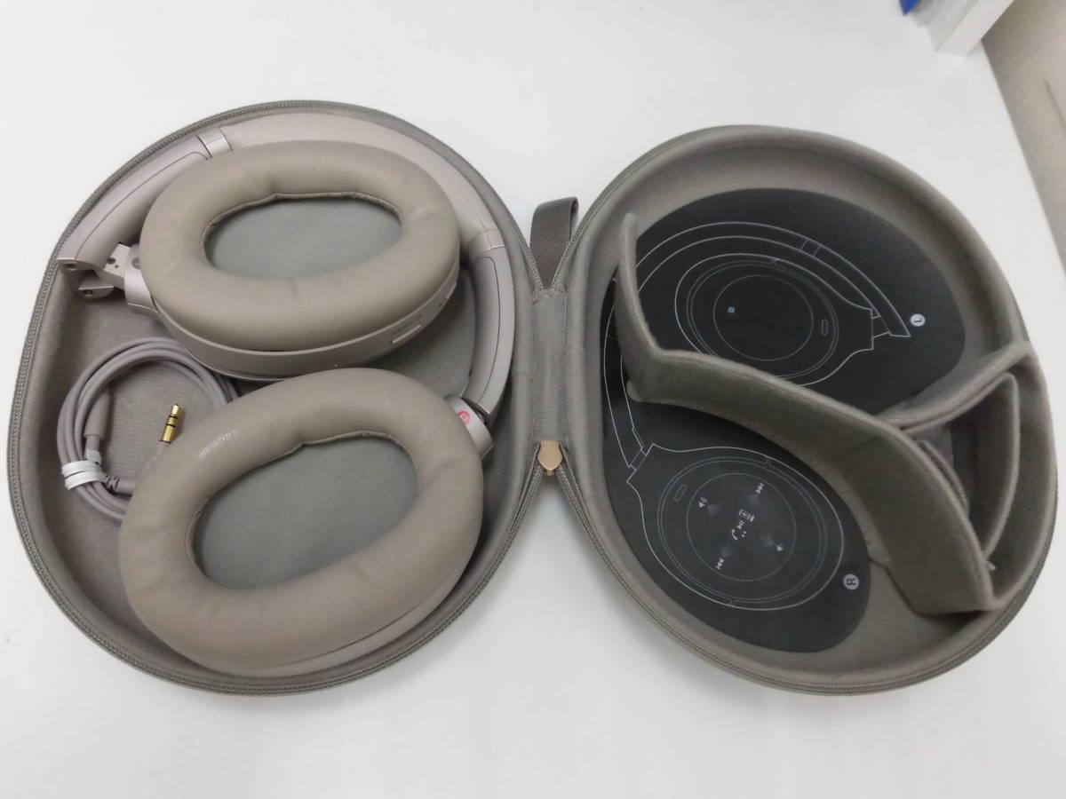 中古品 SONY ワイヤレスヘッドホン WH-1000XM3 プラチナシルバー _画像4