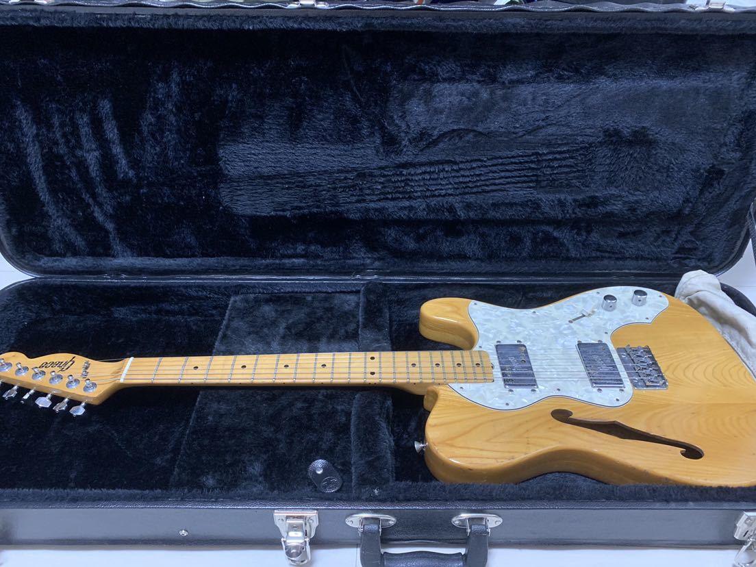 マツモク製 Greco グレコ テレキャスター シンライン 日本製 ジャパンヴィンテージ ビンテージギター
